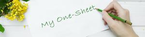 One Sheet Basics